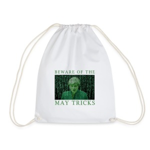 Beware of the May Tricks - Drawstring Bag
