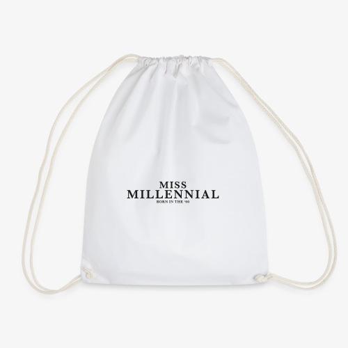 Miss Millennial - Turnbeutel