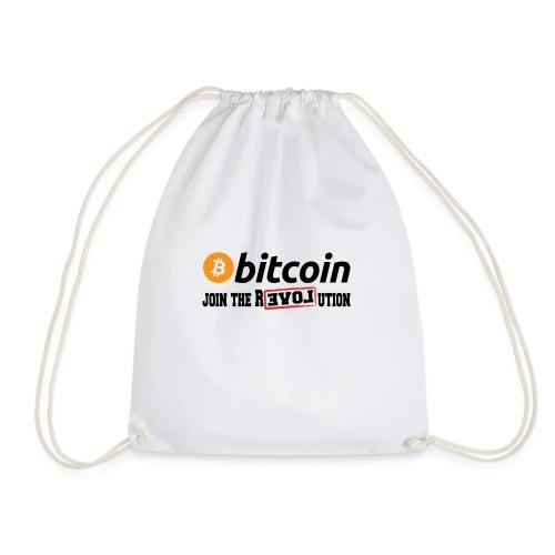 Bitcoin Join the Revolution - Turnbeutel