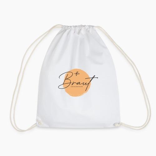 Braut - glücklich & schön - Drawstring Bag