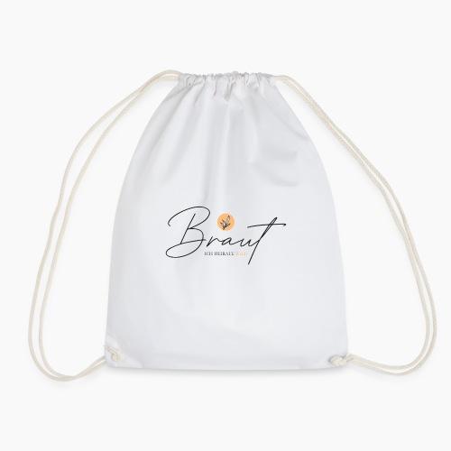 Braut - ich heirate bald - Drawstring Bag