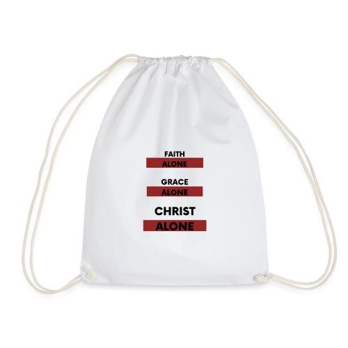 Christ Alone - Drawstring Bag