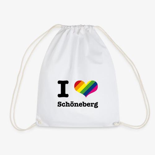 I love Schöneberg - Turnbeutel