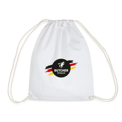 BUTCHER WOLFPACK Logo - Turnbeutel