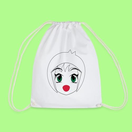 Anime girl T-Shirt - Drawstring Bag
