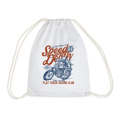 Flat Track Racing Club - Drawstring Bag
