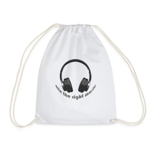 DJ Mix the right music, headphone - Gymtas