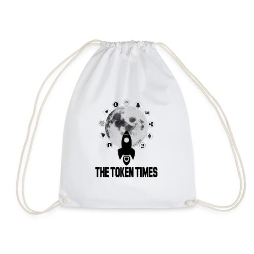 Token Times Logo 1 - Drawstring Bag