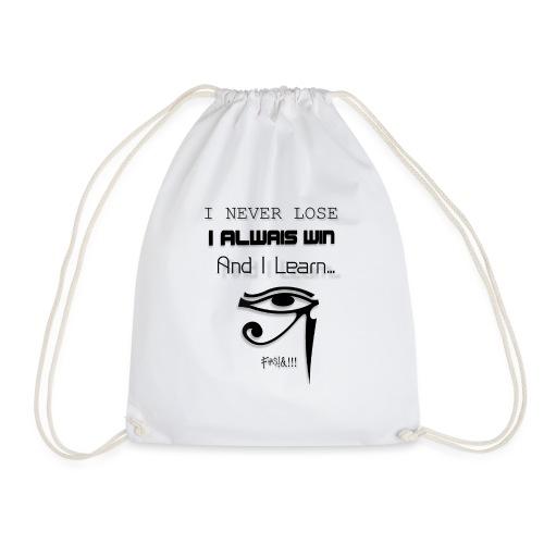 i never lose - Mochila saco