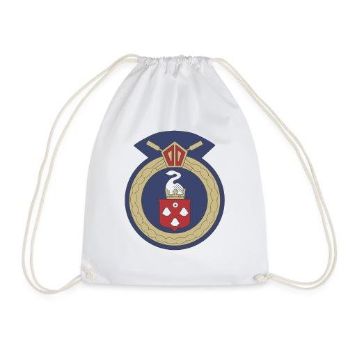 13 Eastleigh Badge White - Drawstring Bag
