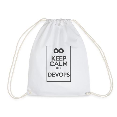 Keep Calm I'm a devops - Drawstring Bag
