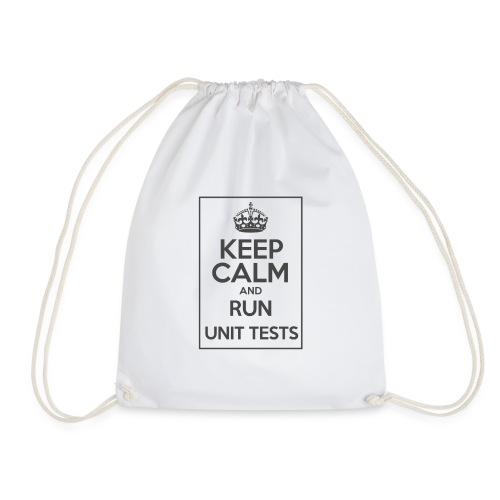 Run Unit Tests - Drawstring Bag