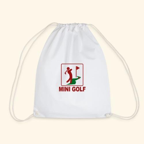 Minigolf - Turnbeutel