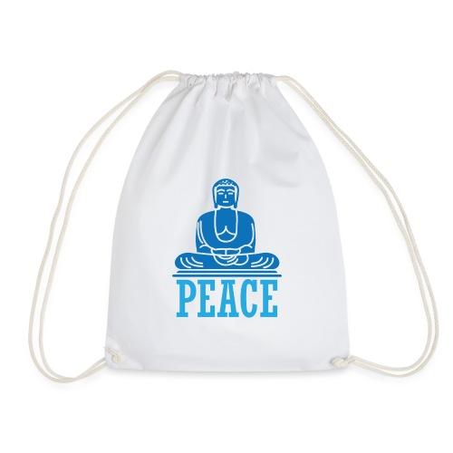 Buddha Meditating. - Drawstring Bag
