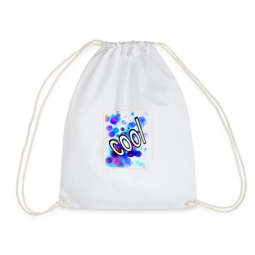 Text Design - 'Cool' - Drawstring Bag