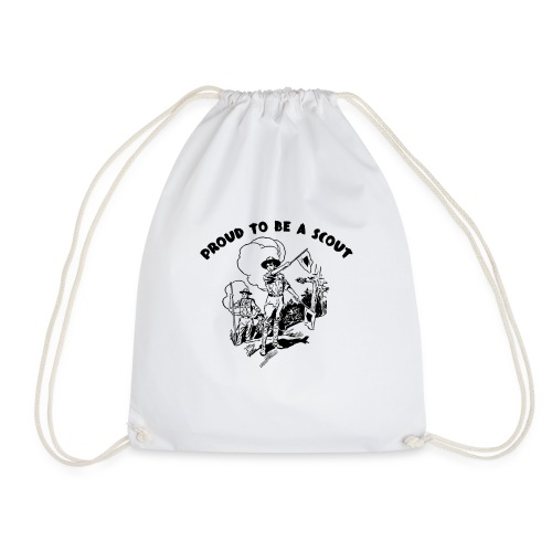 Proud To Be A SCOUT - Drawstring Bag