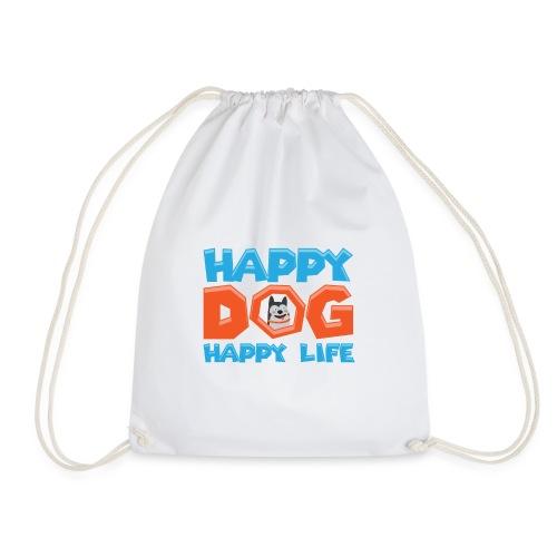 Happy Dog Happy Life - Turnbeutel