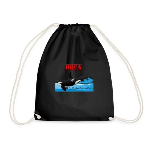 Orca La Balena Assassina Maglietta Uomo Donna 2018 - Sacca sportiva