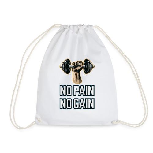 No Pain No Gain - Turnbeutel