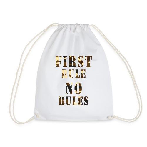 first rule no rules - Sac de sport léger