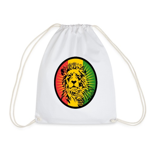 Lion Art flag Dreadlock Rastafari for Rasta lover - Sac de sport léger
