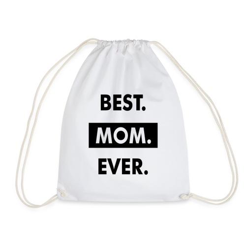 I Love My Mom Best Mom Ever Heart Gift T-Shirt - Sac de sport léger
