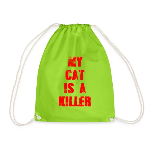 My Cat is a Killer - Turnbeutel
