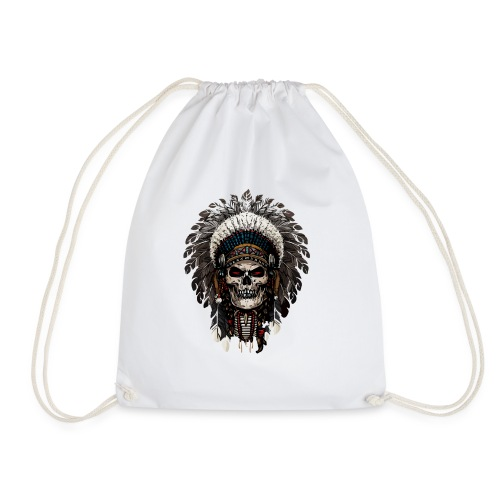 Skull indian - Turnbeutel