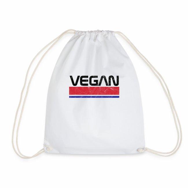 Vegan Logo NASA Classic T-Shirt Veganer T-Shirt