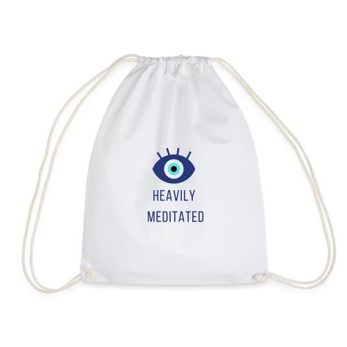 Heavily meditated yoga T-shirt - Gymtas