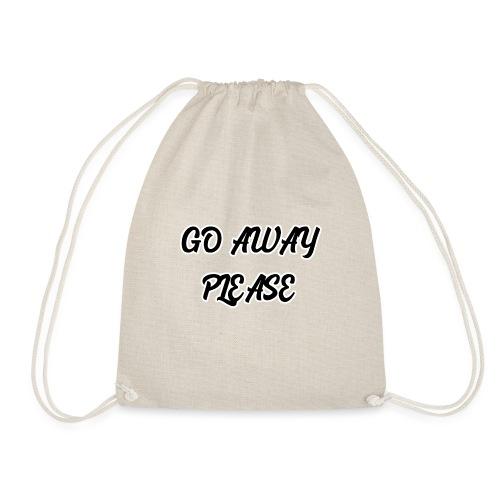 Go Away Please - Turnbeutel