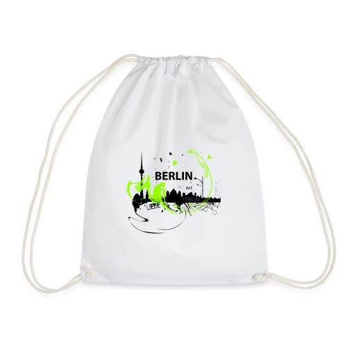 I love Berlin Designer T Shirt - Turnbeutel