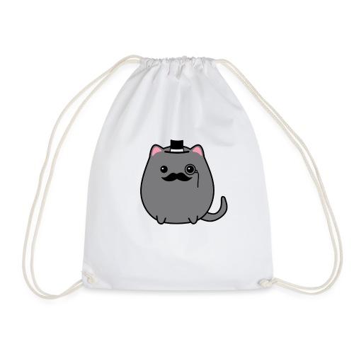 Gentleman Katze - Turnbeutel
