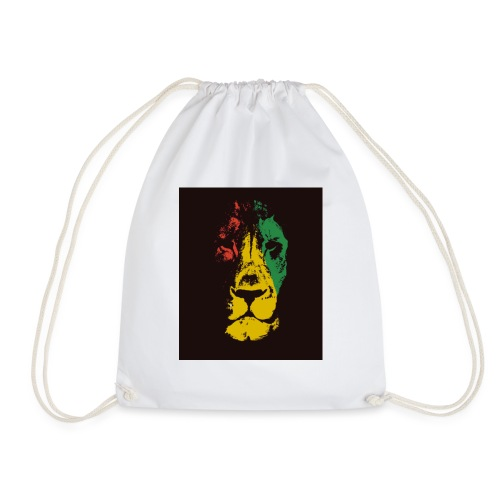 Lion Art Dreadlock Rastafari T-Shirt - Sac de sport léger