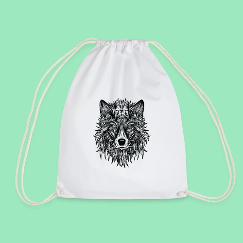bohemian Wolf T-shirt - Gymtas