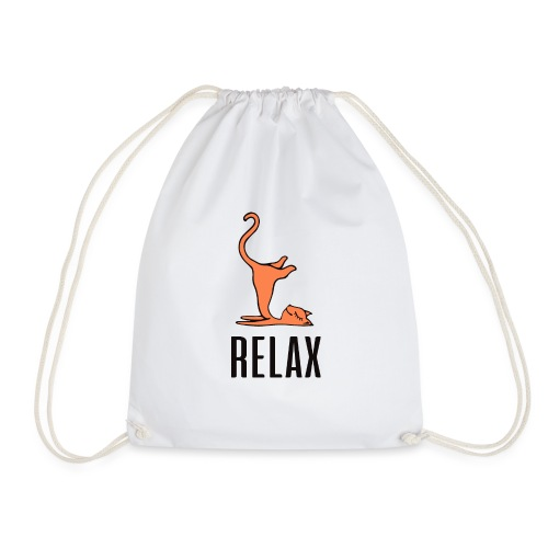 Relax Cat - Turnbeutel