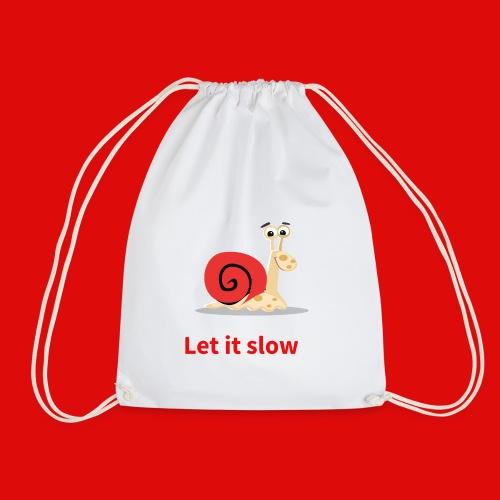 let it slow escargot - Sac de sport léger