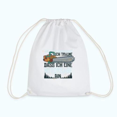 Lustiger Schnarcher - Drawstring Bag