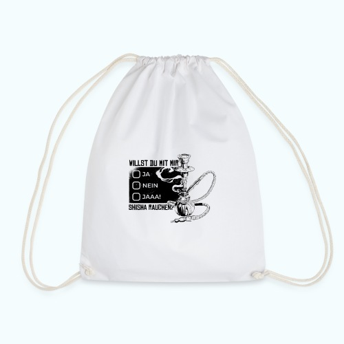 Shisha fan - Drawstring Bag