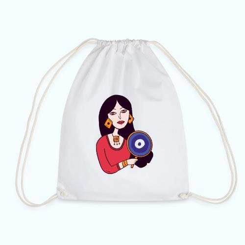 Fashion Girl - Drawstring Bag