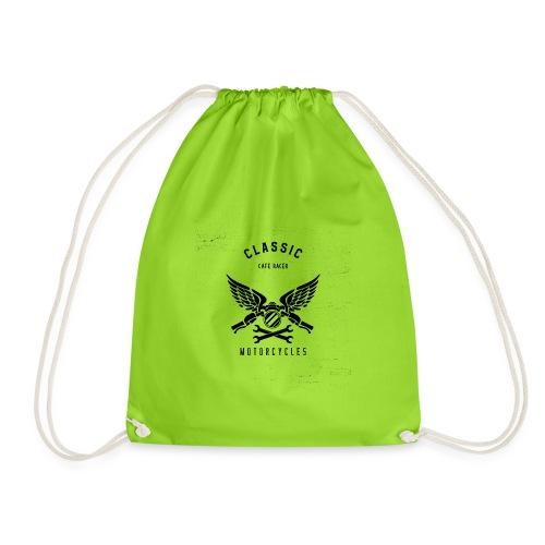 biker t shirt design template for motorcycle enthu - Sportstaske
