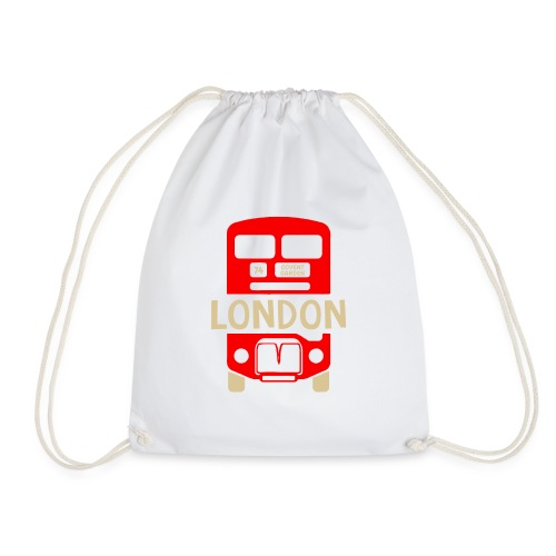 London Bus Roter Doppeldecker London Fan Souvenir - Turnbeutel