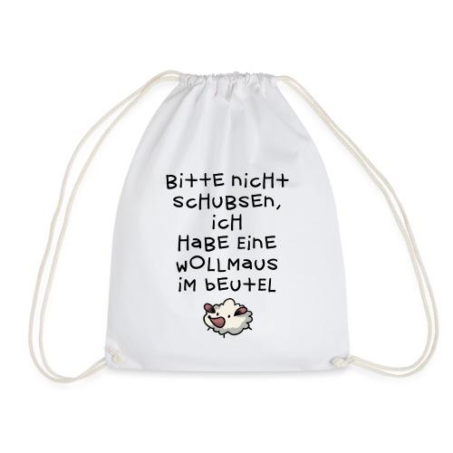Wollmaus // Beutel - Turnbeutel