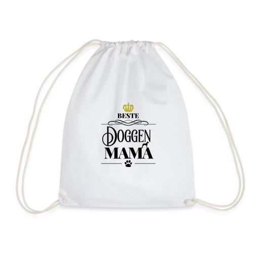 Beste Doggen Mama Geschenk Geburtstag Hundemama - Turnbeutel