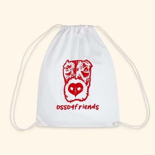 Logo ROSSO TRASPARENTE creative - Sacca sportiva