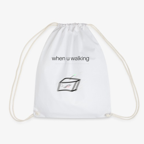 when you walking meme - Sac de sport léger
