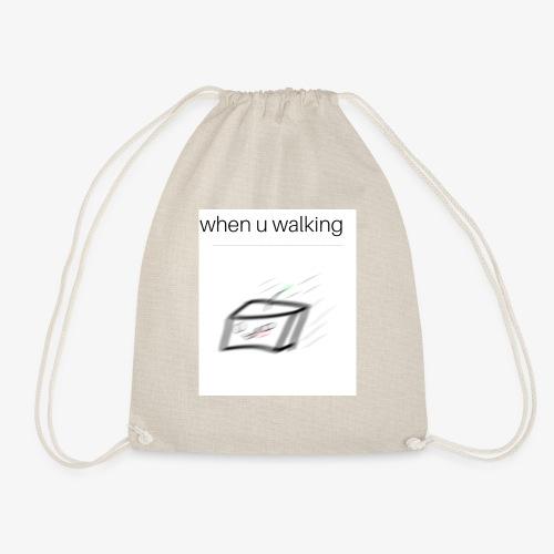 when you walking meme - Sac de sport léger