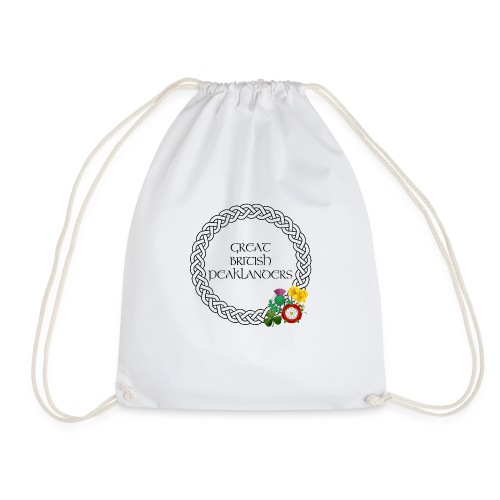 Great British Peaklanders (white) - Drawstring Bag