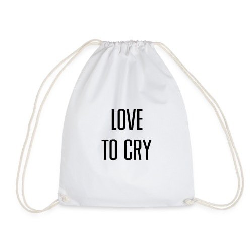 love to cry - Sac de sport léger