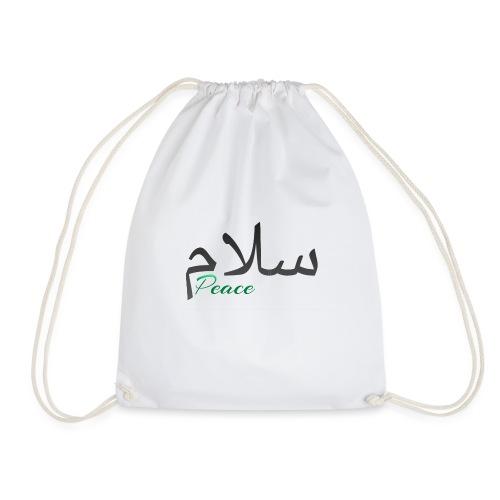 Salam, سلام - Drawstring Bag